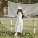 Queen Shop【01085302】氣質綁帶設計蛋糕造型洋裝*現+預*