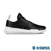 K-SWISS Gen-K Icon皮革壓紋休閒運動鞋-女-黑