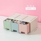 化妝盒 多層桌面小抽屜收納盒塑料化妝品簡...