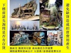 二手書博民逛書店SCALE罕見MODEL HANDBOOK: DIORAMA MODELLING 3-比例模型手冊:立體模型3