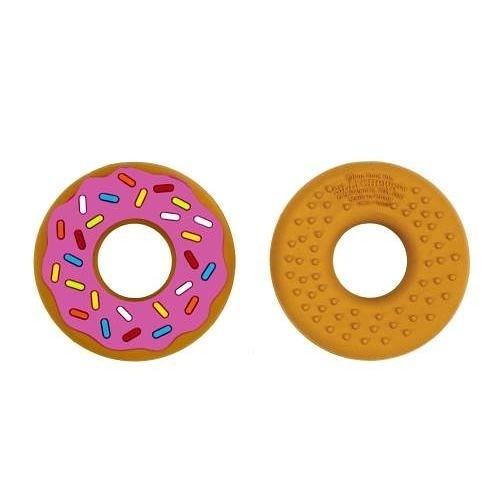 美國 Silli Chews 粉紅甜甜圈咬牙器(固齒器)SC-10[衛立兒生活館]