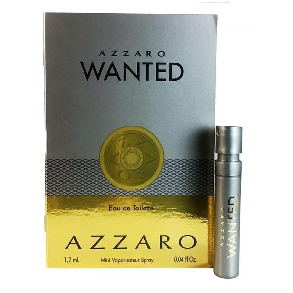 AZZARO WANTED 致命武器男性淡香水針管1.2ml【UR8D】