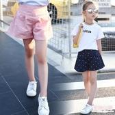5女童短褲裙夏裝新款10女孩百搭褲子9-11周歲中大童短褲外穿 快速出貨