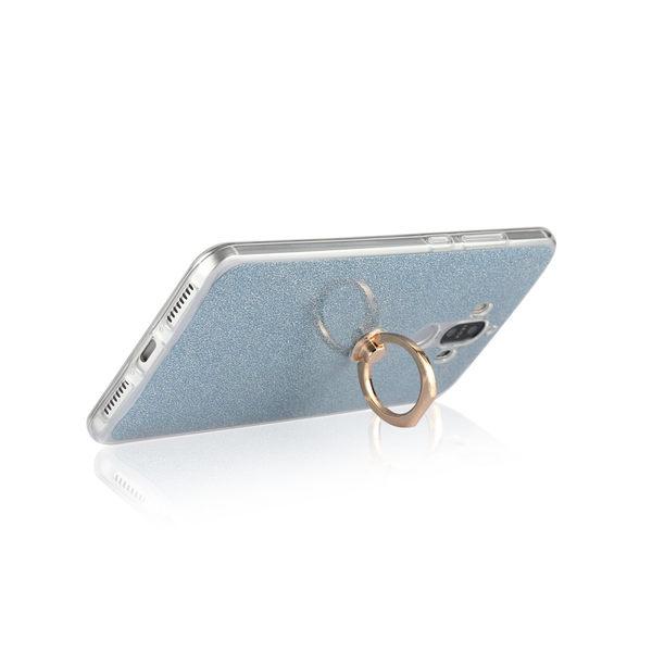 【萌萌噠】華為 HUAWEI  P10 Plus 超薄指環閃粉款保護殼 全包防摔 矽膠軟殼 支架 手機殼 手機套