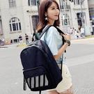 後背包雙肩包男韓版學院高中學生書包女大容量旅行電腦包ins超火的背包 蘿莉小腳丫