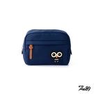 【THE89】夜幕森情-車繡款 906-9801 化妝包 (深藍)