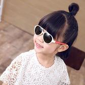 女童太陽鏡防紫外線兒童男寶寶時尚潮流墨鏡偏光軟材質1-9歲  可然精品鞋櫃