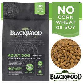 【zoo寵物商城】BLACKWOOD 柏萊富《雞肉 & 米》特調低卡保健30LB
