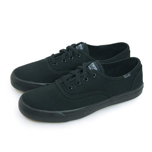 LIKA夢 Keds 時尚韓風經典款帆布鞋 TRIUMPH 28 系列 黑 131518 女