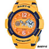 卡西歐 CASIO Baby-G 街頭運動錶 BGA-210-4B 黃