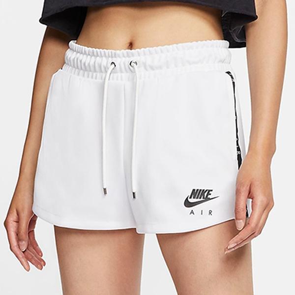【現貨】NIKE NSW Air 女裝 短褲 慢跑 休閒 串標 輕量 口袋 白【運動世界】CJ3135-100