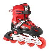 3-4-5-6-7-8-10歲溜冰鞋兒童全套裝男女童直排輪滑鞋旱冰鞋初學者 英雄聯盟
