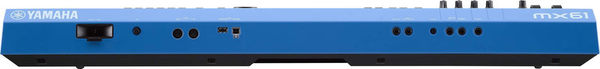 【金聲樂器】YAMAHA MX61 V2 BU/MX-61 V2 BU 全新第二代 61鍵 合成器