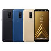 Samsung Galaxy A6+ A605 6吋全螢幕八核機【加送空壓殼+螢幕保護貼+美拍握把~內附一年延長保固卡】