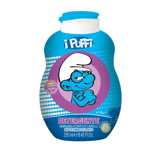 夏「降」 - 【義大利進口】Smurfs 洗髮沐浴乳 (棉花糖)- -250ml$275↘特價$70,效期2019/12