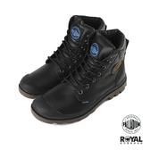 Palladium Pampa 深咖啡色 皮質 防水 軍靴 高筒 休閒鞋 男女款 NO.B0966【新竹皇家 72991-057】