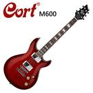 ★CORT★M600-AVB 嚴選電吉他-虎紋紅色