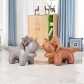 沙發 創意三角龍動物沙發凳座椅設計師卡通造型換鞋凳恐龍坐墩凳子 3C優購HM