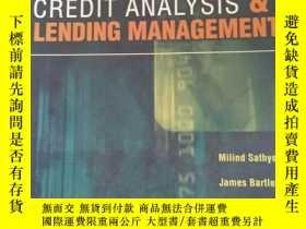 二手書博民逛書店Credit罕見Analysis and Lending Man