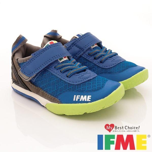 【IFME】健康機能鞋-潮流帥氣機能款(小童)藍-770786(15cm-18cm)