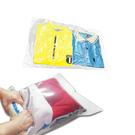 《附專用封口夾》 2入-行家首選真空/壓縮袋 免用吸塵器式【手捲大袋50x70cm】賣點購物