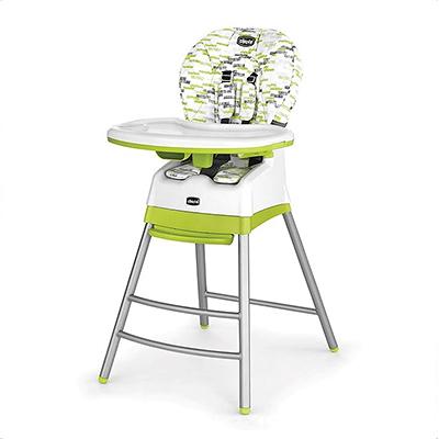 Chicco Stack三合一多功能成長高腳餐椅-奇異果綠【佳兒園婦幼館】