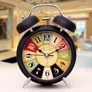 超大聲音小鬧鐘學生用床頭靜音夜光簡約兒童創意時鐘臥室鐘表鬧鈴 設計師