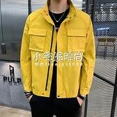 秋季男裝新款休閒上衣時尚夾克韓版潮流修身夾克   【全館免運】