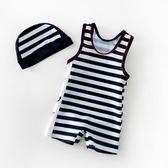 店長推薦 新款兒童泳衣連身游泳衣男童泳衣嬰幼兒寶寶小孩泳衣