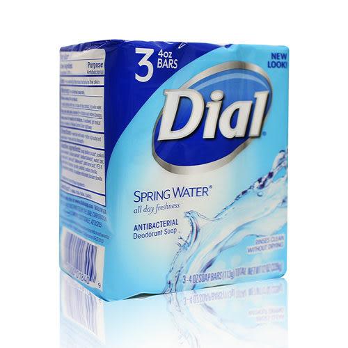 Dial 香皂(藍色清泉香)113gx3入,效期:2019/04/18
