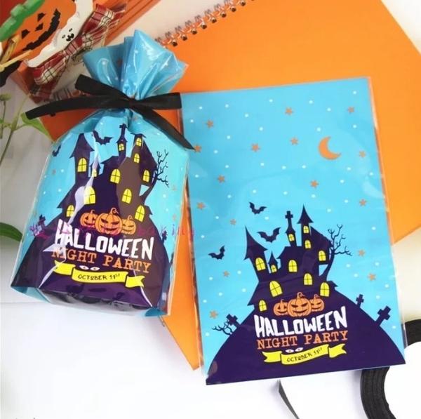 1入 3款萬聖節立體平口袋 南瓜桶蝙蝠糖果桶 萬聖節包裝袋【X060】派對禮物袋 糖果袋餅乾袋