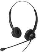 頭戴式耳機 杭普 Q28NC降噪話務員 電話耳機客服耳麥座機固話雙耳電銷 頭戴式 米家