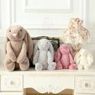 29厘米兒童玩偶安撫布娃娃 可愛垂耳兔子毛絨玩具小白兔公仔生日禮物【少女顏究院】