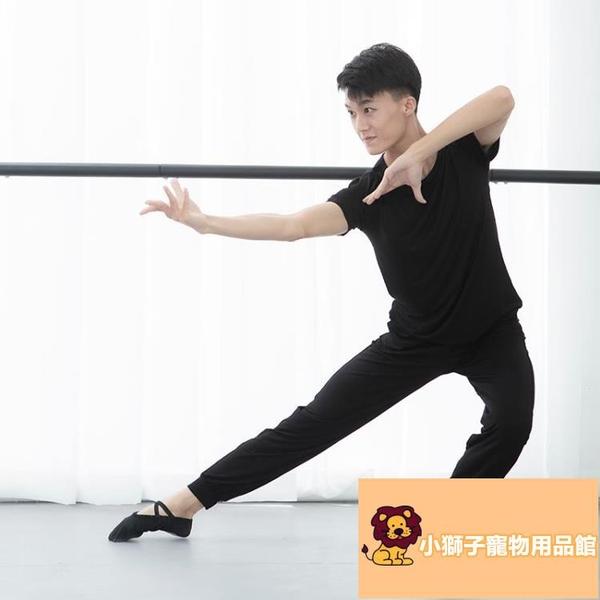 上衣教師莫代爾形體舞蹈褲子舞蹈服練功服男兩件套成人中國古典現代舞蹈【小狮子】