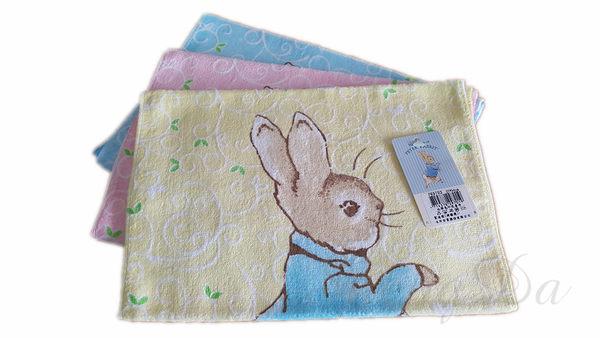 PETER RABBIT 比得兔/彼得兔印花絨童巾PR9703-台灣製造-正版授權