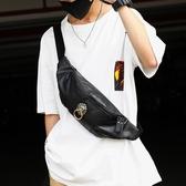 復古新款中國風胸包潮牌時尚情侶包男女腰包后背包潮流側背包潮包 非凡小鋪