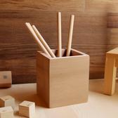 【木樂館】原木筆筒│美國側柏香杉│收納置物盒收藏盒筆盒文具辦公事務用品雜貨