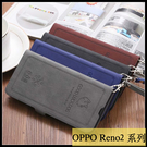 【萌萌噠】歐珀 OPPO Reno2 Z 可愛招財貓 幸運狗狗復古側翻皮套 可磁扣 插卡 支架 皮套 手機套
