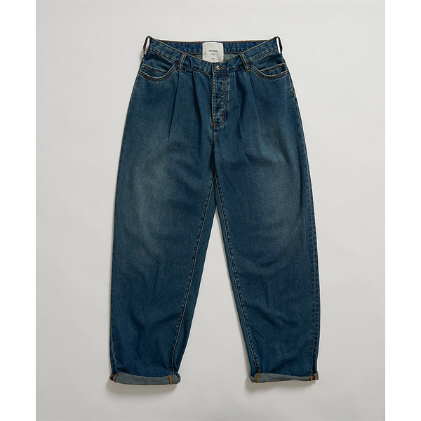 ONETEASPOON  DIRTY INDIGO SMITHS TROUSER JEAN  牛仔褲-深藍(女)