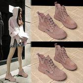 馬丁靴 馬丁靴女英倫風女鞋新款2019年秋鞋百搭切爾西網紅秋季瘦瘦短靴子 優品匯