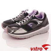 【VITRO】韓國專業運動鞋-Walking-頂級專業健走機能鞋-OC104-灰紫(女)