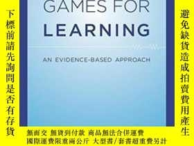 二手書博民逛書店Computer罕見Games For Learning: An Evidence-based Approach