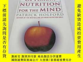 二手書博民逛書店英文原版罕見Optimum Nutrition for the