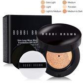 BOBBI BROWN 自然輕透膠囊氣墊粉底-無瑕版SPF50 PA+++(13g)含盒#Light to Medium