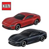 兩款一組【日本正版】TOMICA NO.17 法拉利 ROMA Ferrari 玩具車 初回特別式樣 多美小車 - 175728