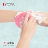 【日本東和TOWA】易起泡軟質矽膠雙面按摩沐浴刷 (美體 美肌 洗澡 清潔 去角質 保養)