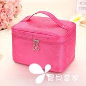 韓國可愛大小號容量化妝包收納包簡約防水美容洗漱包化妝品包便攜