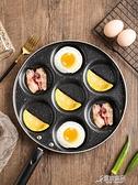 多孔煎鍋 早餐鍋七孔煎蛋鍋麥飯石不粘鍋蛋餃鍋多孔煎鍋