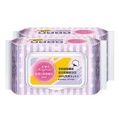 美娜多乾濕2用潔膚巾40P*2包【愛買】