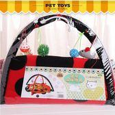 甲殼蟲帳篷寵物用品 貓咪玩具 吊床貓玩具 貓爬架貓用品  igo初語生活館
